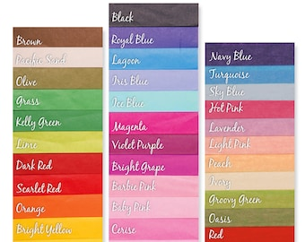 Tissue Paper ....40 sheets - diy - craft project - gift wrapping - packaging - supply