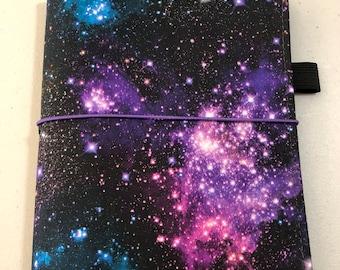 MINI HAPPY PLANNER Sized Book Cover ~ Stargazer Fabric Planner Cover