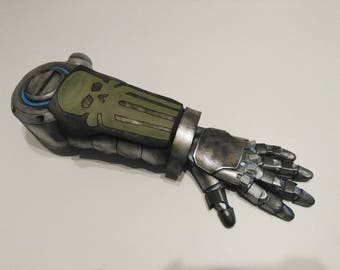 Mechanical arm mccree overwatch cosplay