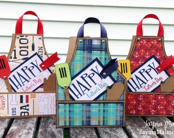 Download: Masculine Birthday or Father's Day BBQ Apron Tutorial/Guide/Workshop (PDF)