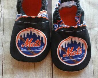 New York Mets Inspired Booties