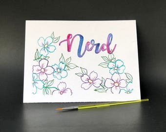 Nerd Flower - Paint Kit