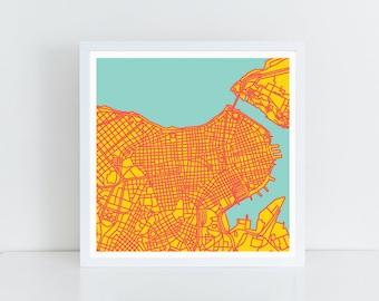 Map of La Habana