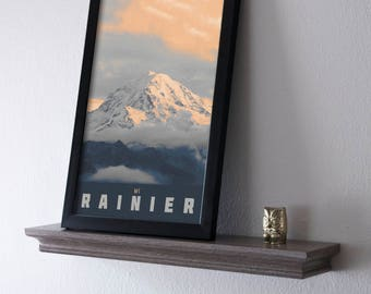 Mt Rainier Poster 11x17