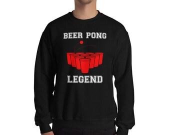 Beer Pong Sweatshirt, Beer Pong, Drinking Sweatshirt, Funny Drinking Sweatshirt, Beer Sweatshirt, Party Sweatshirt, College Sweatshirt