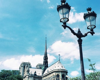Travel Photography - Paris, France - 'Notre-Dame Cathedral'