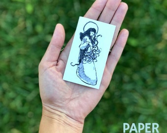 Our Lady Undoer of Knots, Our Lady Untier of Knots, Mini Print
