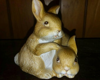 HOMCO Bunny Figurine