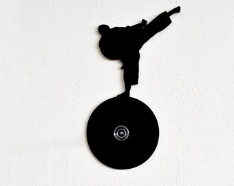 Karate Silhouette-Wall Hook  / Coat Hook / Key Hanger