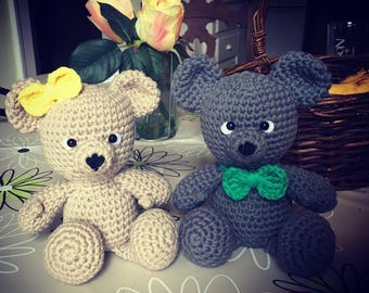 Crochet Amigurumi Teddy bear toy