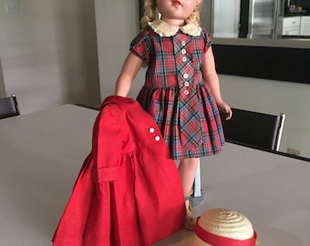 Sweet Sue Doll/ JUST REDUCED Hard Plastic Doll/American Character Doll/ c.1940s By Gatormom13