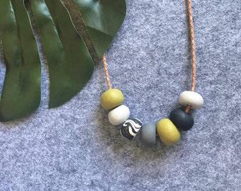 IGGY - Polymer Clay Necklace