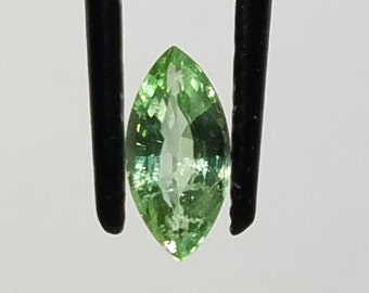 Green Paraiba Tourmaline Gemstone, Marquise Cut (.76 ct.)