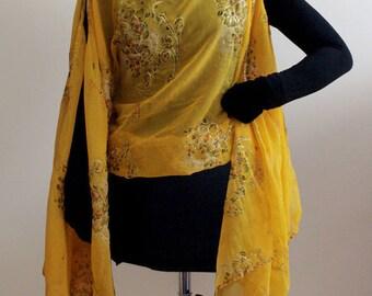 Indian sari tunic