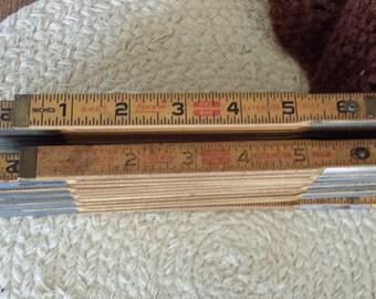 Vintage Wooden Lufkin Extension Rule