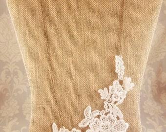 Ivory Lace Neckace