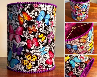 Handmade Butterfly Lampshade