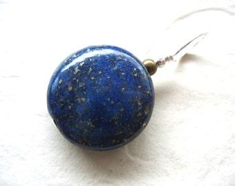 Lapis Lazuli , Lapis Stone Pendant, Handmade Gemstone Pendant Necklace Jewelry