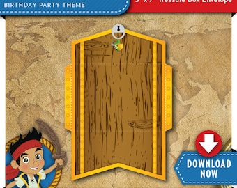 """Jake and the Neverland Pirates Treasure Chest Envelope 