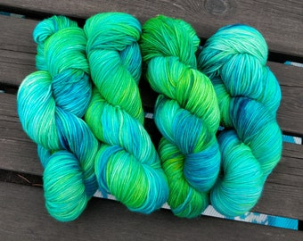 Unapologetic - hand dyed yarn by AniLove Design (100g/skein)