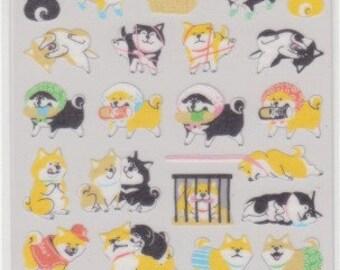 Dog Stickers - Puppy Stickers - Masking Tape Sticker - Mind Wave - Reference L6758-60