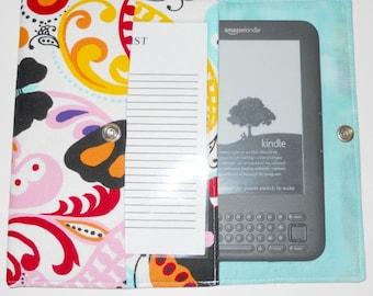 iPad Mini, Kindle, Nook, Kobo, Sony Reader, Samsung Galaxy, Small eReader Padded Case / Cover / Sleeve (READY TO SHIP) - Papillion Butterfly