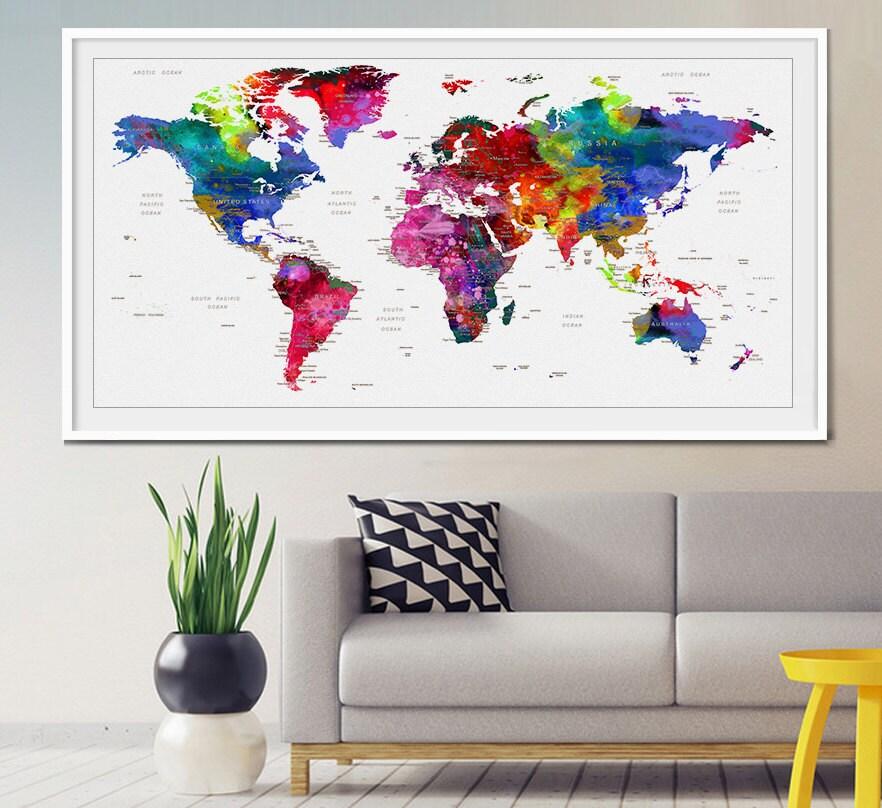 Pins world map vatozozdevelopment pins world map gumiabroncs Images