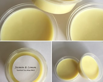 Jasmin & Lemon Fragranced Soy Wax Melt