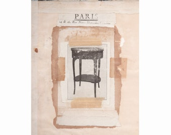 """Montage, collage, assemblage Title:""""A.Dumas-Paris"""""""