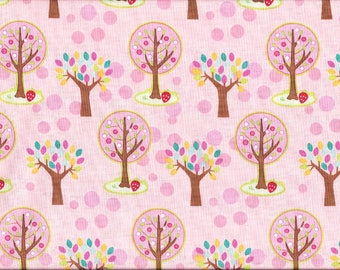 Tissu Coton patchwork de Riley Blake / Forêt rose