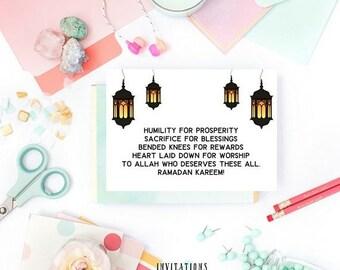 13% OFF SALE- DIGITAL Card Ramadan Kareem Card Muslim Ramadan Card  Ramadan Greeting Card Ramadan Cards Ramadan Stationery Islamic Card Musl
