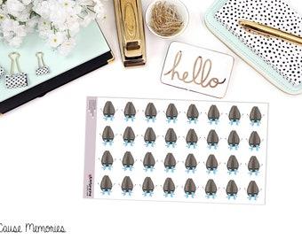 SAMMIE SNARK semences: «Oh, pleurer sur elle...» Papier Planner Stickers