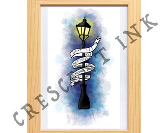 Narnia A4 Art Print