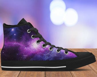 Galaxy Shoes - Space Sneakers -Connect to the universe in these Kiks