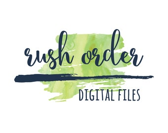 Rush Order - 24 Hour Digital File Delivery Add On
