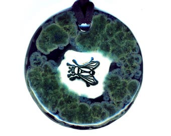 Fly Ceramic Necklace