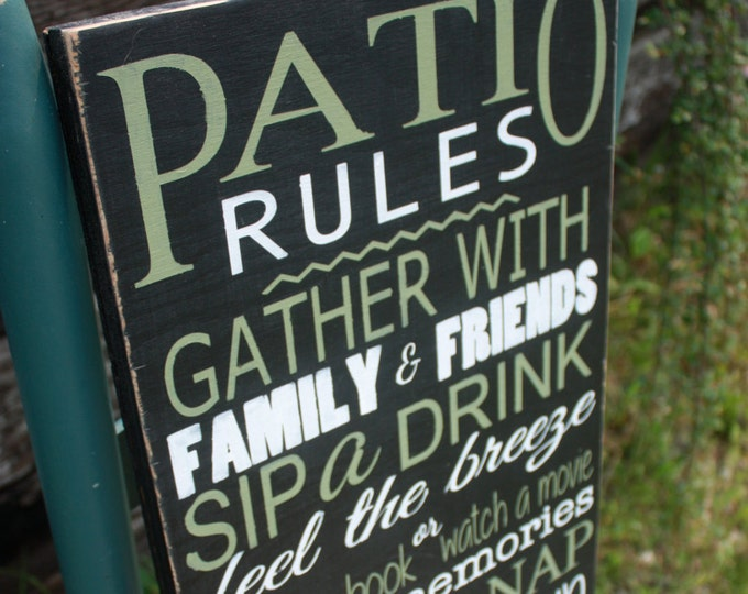 Popular Outdoor signs - Mama Says Signs FX16