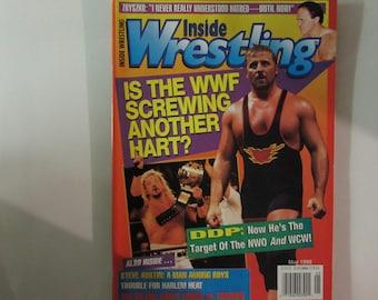 Inside Wrestling Magazine, May 1998, Owen Hart