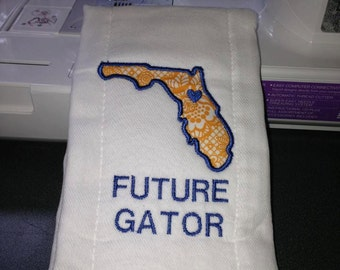 Future Gator, UF University of Florida burb cloth