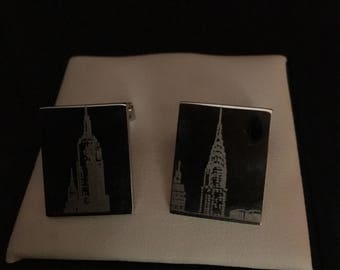Kenneth Cole City Scape Cufflinls