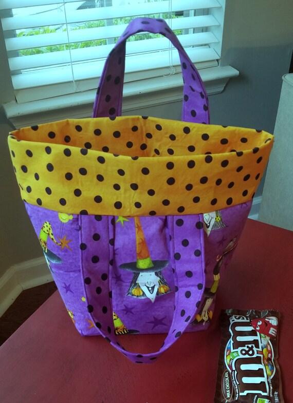 Halloween Treat Bag, Trick-or-Treat Bags, Halloween Totes