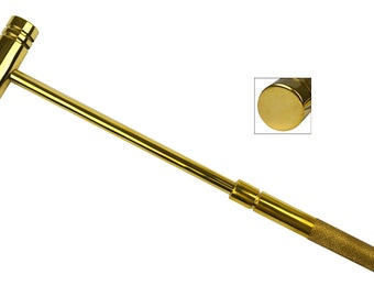 """9"""" All Brass Hammer Jewelry Making Metal Forming Tool - HAM-0020"""