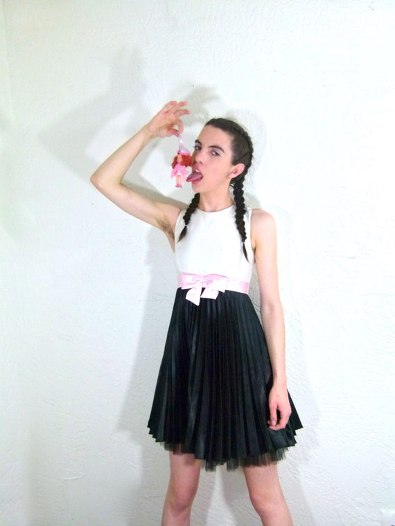 90s Punk Rock Babydoll Dress