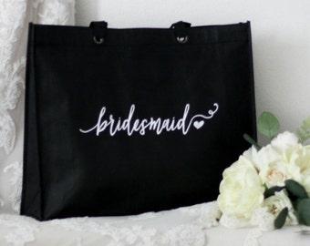 Bridesmaid Tote Bags, Bridesmaid Bag, Bridesmaid Bag, Wedding Bag, Bridesmaid Gift, Bridesmaid Tote