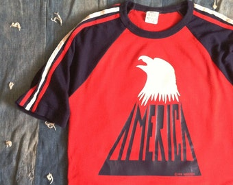 Vintage 1970s America Tour T-shirt
