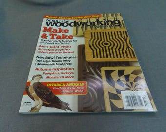Scrollsaw Woodworking and Crafts, Magazine Back Issue, Fall 2015, Intarsia Animals, Master Pattern Sheet