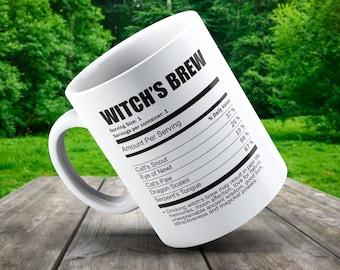Witch's Brew Mug - Funny Wicca Mug