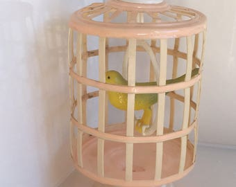 Celluloid Birdcage toy