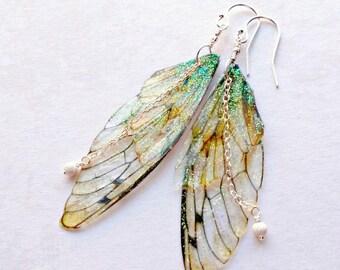 Fairy Wing Earrings, Festival Earrings, Gifts under 25, Fairy Wings, Summer Earrings