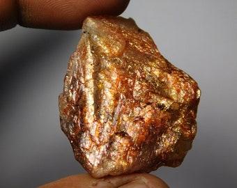 AAA & Very High Quality Natural Sunstone Rough ! Sunstone Rough Cabochons,Sunstone Rough Gemstone,Sunstone Rough Loose Stone 97Cts.